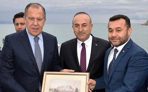 Russian Foreign Minister Visited Alanya