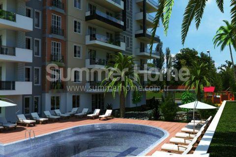 Family Suitable Appartements avec Design Moderne à Tosmur, Alanya