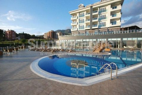 Elegantly Designed Apartments with Marvelous Sea View in Cikcilli, Alanya