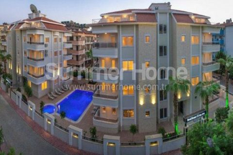 Beautiful Low-Cost Apartments Surrounded by Nature in Oba, Alanya