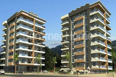 Luxury Apartments in Stylish Design in the center of Alanya