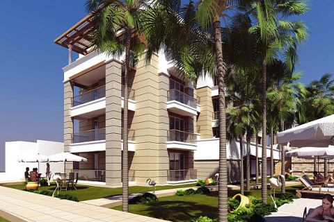 Luxurious Apartments Located on the Hillside in Side