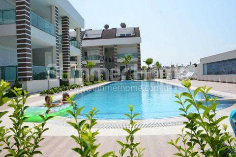 Antalya Side'de 2 Yatak Odalı Büyüleyici Manzaraya Sahip Satılık Daireler