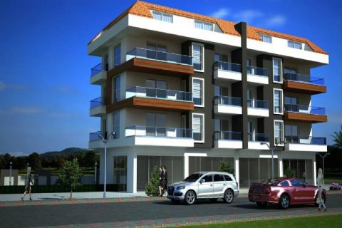 Lovely Apartments Situated in a Peaceful Area in Alanya