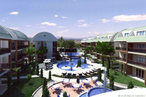 Stilvolle Wohnung mit luxuriösem Design im Zentrum von Side