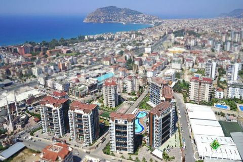 Incredible Spacious Apartments with 5 Bedrooms in Cikcilli, Alanya