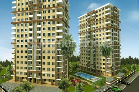 High Standard Apartments in Popular Part of Antalya