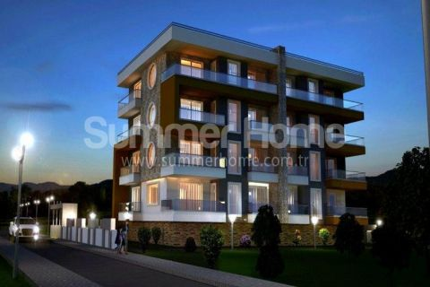 Kvalitné apartmány na predaj v Alanyi