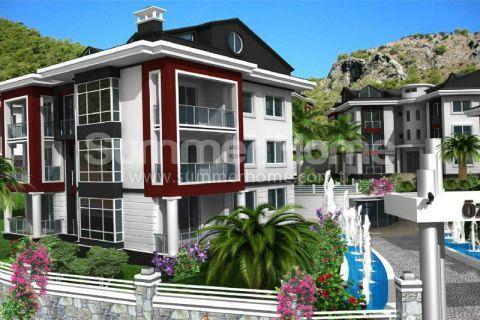 Luxe appartementen met adembenemend panoramisch uitzicht in Fethiye.
