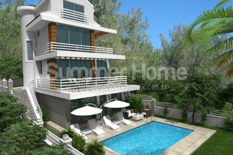 Luxe Villa ' s Omgeven door Groene Natuur in Fethiye
