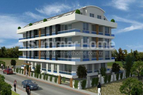 Appartementen op goede positie te koop in Alanya