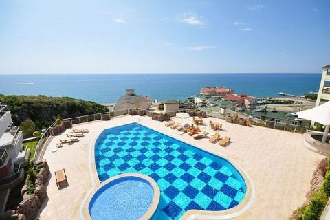 Panoramic View Luxury Apartments in Konakli, Alanya