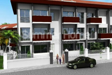 Exclusieve residentie met betaalbare appartementen in Fethiye