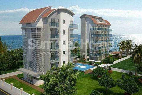 Štýlové apartmány s výhľadom na more v Alanyi