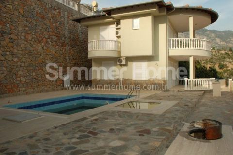 Lovely Villas with Beautiful Sea View in Alanya