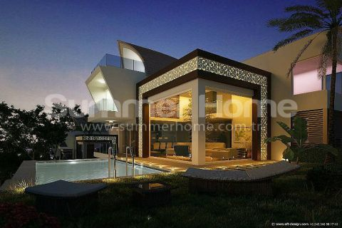 Incredible Villas with a Wonderful View in Alanya