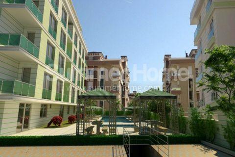 Stylish Flats in Suitable Location in Konyaalti, Antalya