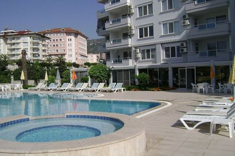 Good Located Residence with Modern Apartments in Alanya