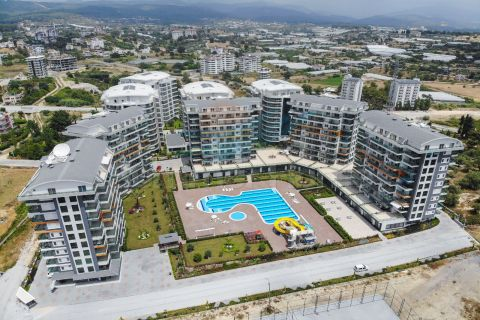 New Apartments in Stunning Residential Property in Avsallar, Alanya