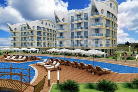 Trendy Apartments in Attractive Part of Antalya