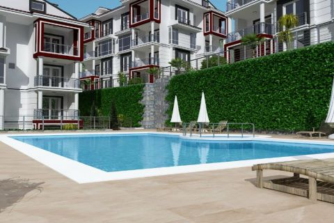 Redelijk geprijsde appartementen met ongelooflijk uitzicht in Fethiye