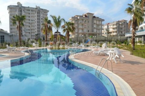Luxurious One Bedroom Apartment for Rent in Cikcilli, Alanya