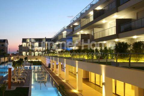 Rymliga lägenheter i exklusivt bostadsområde i Side
