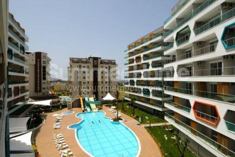 Complexe de luxe avec des appartements bon marché à Alanya
