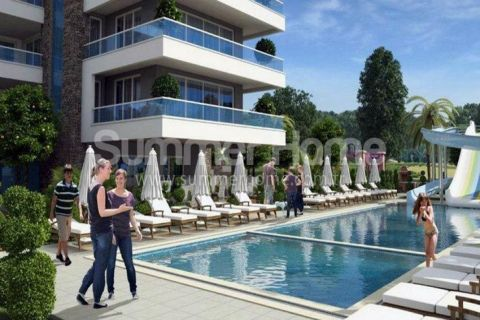 Well-Made Apartments in Popular Part Cikcilli in Alanya