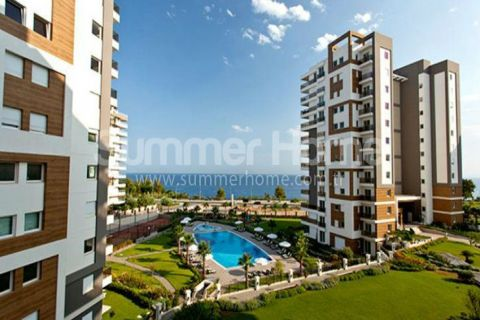 Apartments in Luxury Residential with Excellent View in Lara, Antalya
