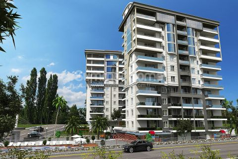 Modern Apartments Close to All Shopping Centers in Alanya