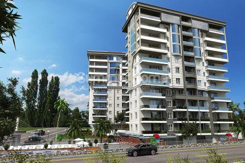 Современные апартаменты в Алании