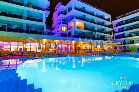 Comfortable 2 Bedroom Apartment in Fully Served Residence in Alanya