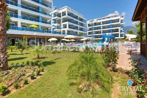 Crystal River appartementen in Alanya
