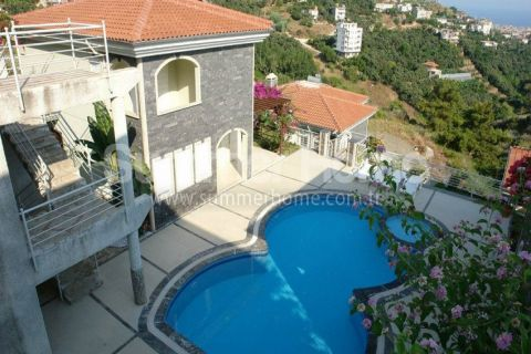 Magnificent Villas with Breathtaking Views in Alanya