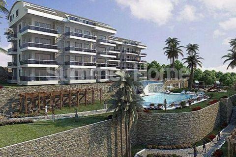 Immobilien in Alanya Konakli Sunset Apartments Fantastische Meerblick Wohnungen in Konakli | Immobilien Türkei