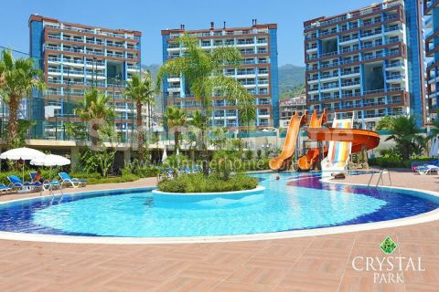 Spacious Luxury Apartment with Wonderful Sea View in Alanya