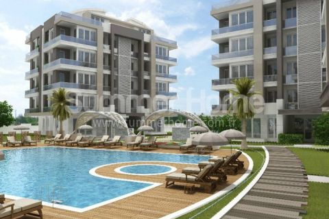 Modern Apartments in Good Location in Antalya