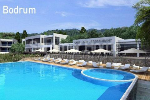Moderné golfové apartmány na predaj v Bodrume