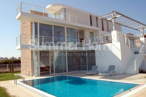 Exclusive Villas in Wonderful Green Nature in Belek