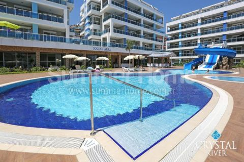 Spacious and Modern One Bedroom Apartment in Alanya