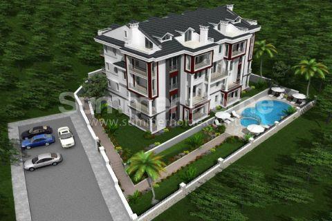 Schitterende appartementen op een rustige locatie in Fethiye, Turkije