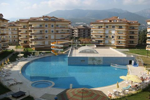 Exclusive Apartments in Family Resort in Oba, Alanya
