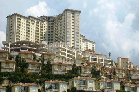 1+1 apartment in Gold City for resale - Summer Home Real Estate | Apartments in Kargicak - Alanya | Property in Turkey