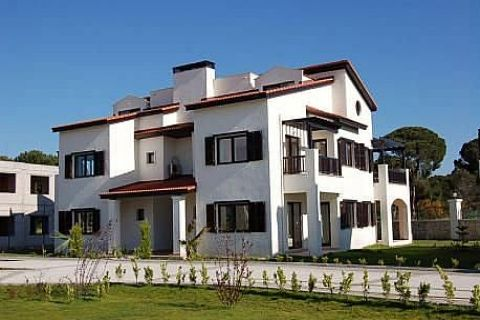 Classy Villas with Direct Access to Beach in Belek