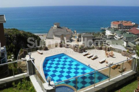 2 Bedroom Apartment with Beautiful Sea View in Alanya