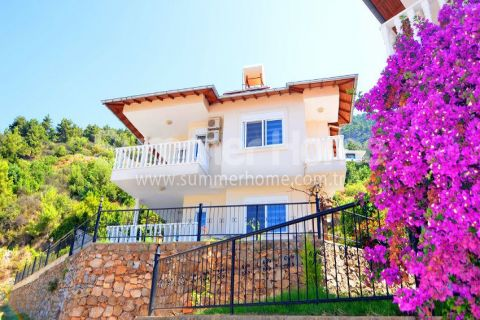 Lovely Villas with Stunning Sea and Mountain Views in Alanya, Turkey