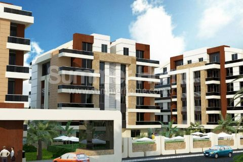 Well-Designed Apartments Near the Beach in Konyaalti, Antalya