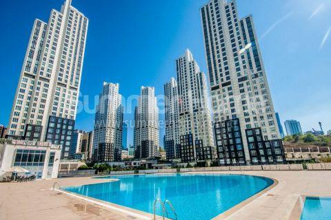 Appartements de luxe spacieux avec bel espace vert à Istanbul