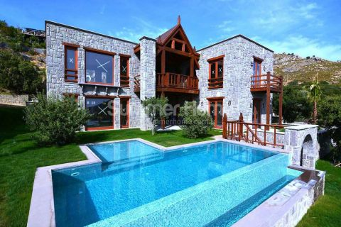 Luxury Holiday Villas with Stunning Sea View in Bodrum